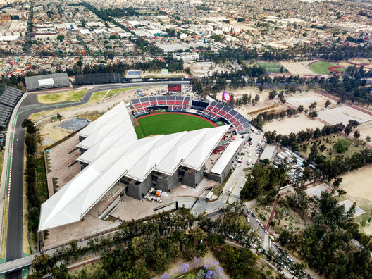 Estadio Diablos. Image Courtesy of FGP Atelier
