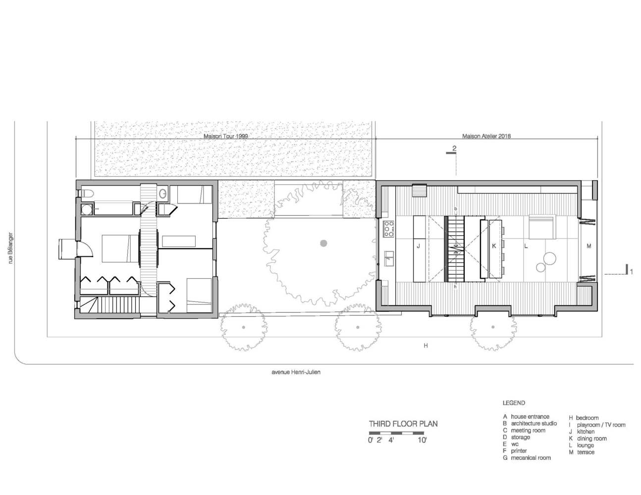 Gallery Of Maison Atelier Yh2 Architecture 20
