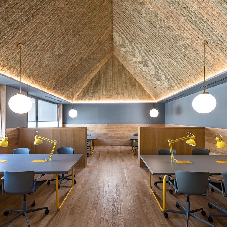Cowork Impacthub piamonte  / ch+qs arquitectos, © Daniel Torrelló