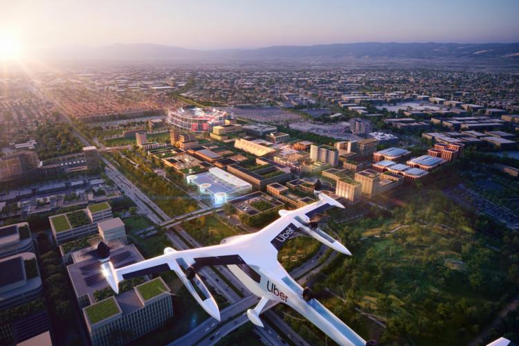 Foster + Partners presenta diseño de aeropuerto para Uber en Estados Unidos, Cortesía de Foster + Partners