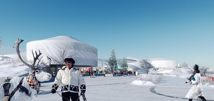 Atrium Architects Design New Learning Commons for World's Largest Permafrost City, SAKHA_Z. Image Courtesy of Atrium Architects & Vostok