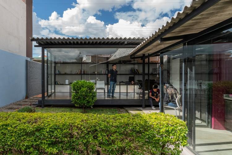 Telón de cemento / Ruptura Morlaca Arquitectura, © Oscar Moscoso