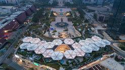Longcheng Plaza Wankeli Roof Sunshade Design / Ingame