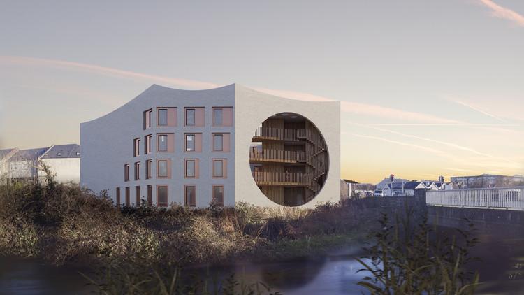 "Urban Agency Designs a ""Student Castle"" in Ireland, © Urban Agency"