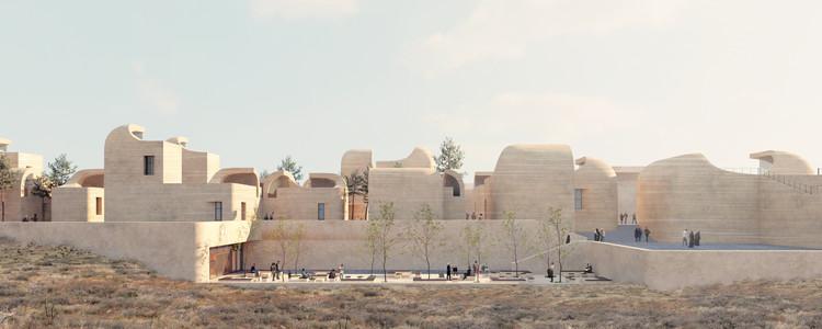 A Town within a Town for Sadra's Civic Center , © NextOffice - Alireza Taghaboni