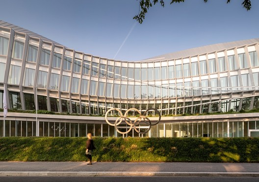 Olympic House. Image © International Olympic Committee (IOC) / MORK, Adam