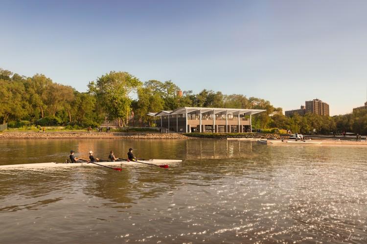 Harlem Boathouse. Image Courtesy of Foster + Partners