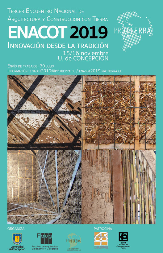 ENACOT 2019 Encuentro Nacional de Arquitectura y Construcción con Tierra, ProTierra Chile