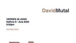 Diálogos Arq: conferencia de David Mutal en la Universidad de Piura