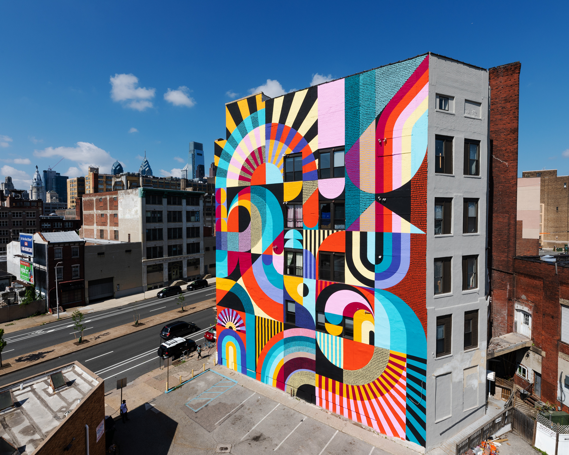 A Pop Of Color On Public Spaces Archdaily