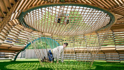 NEST Interactive Playscape / Tri-Lox