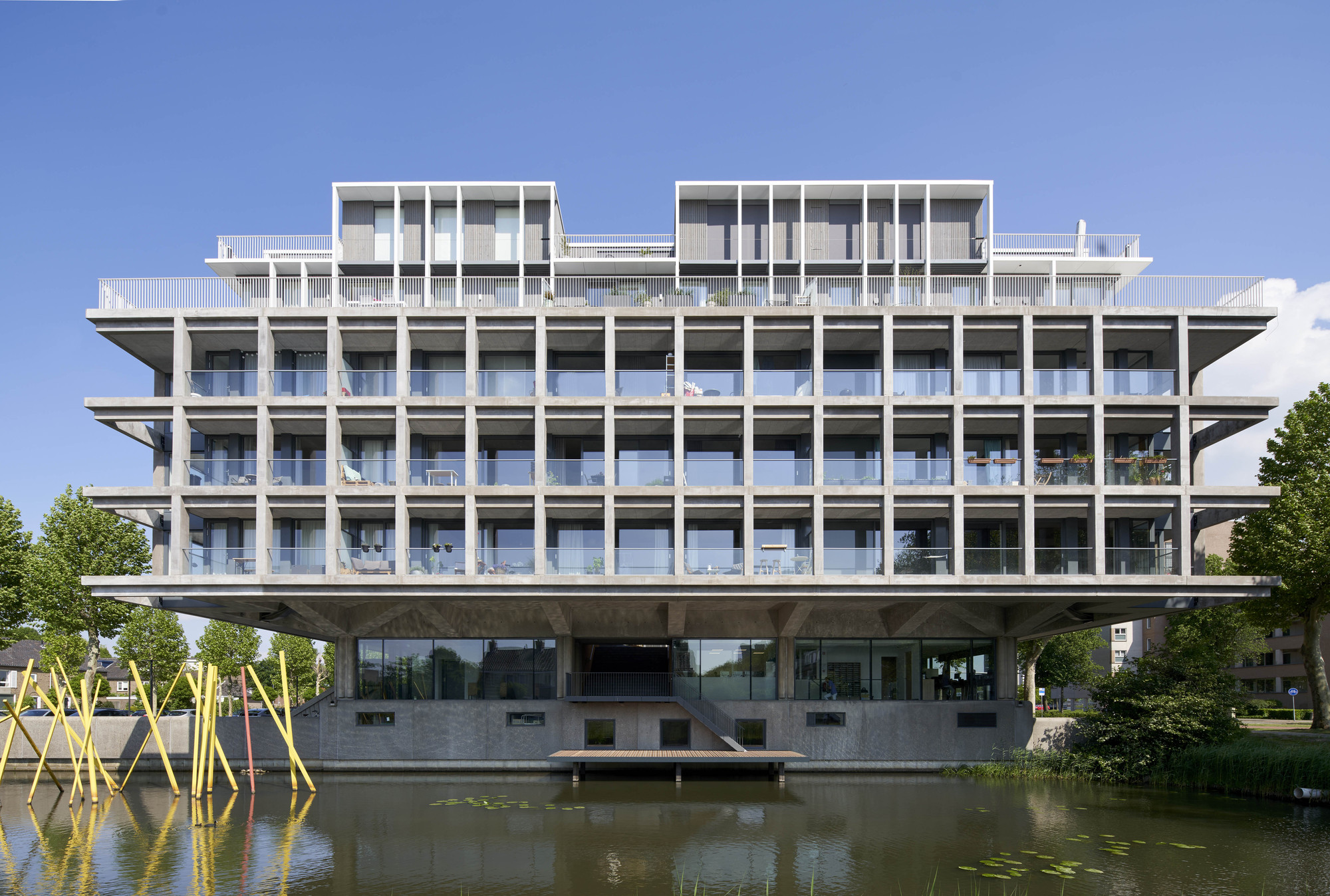 Schubertsingel Den Bosch Office Building Transformation / Houben / van Mierlo
