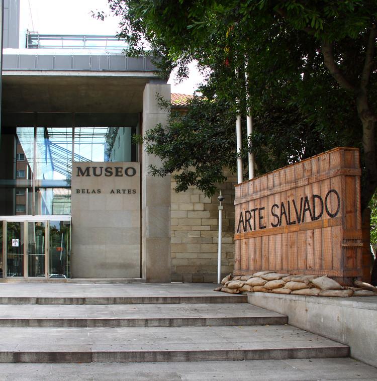Manuel Gallego Jorreto, la arquitectura del premio nacional de arquitectura 2018 en España, vía Wikipedia user: FirkinCat. Licensed under CC BY-SA 3.0 ES. Imagen editada digitalmente
