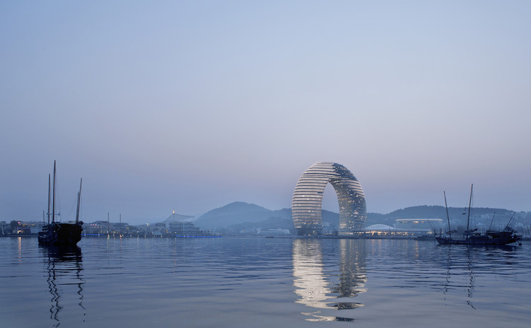 Hotel Sheraton Moon en Huzhou / MAD Architects, © Xia Zhi