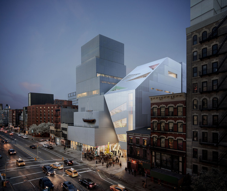 OMA Unveil their First Public Building in New York, Proposed OMA Addition. Image © OMA / Bloom Web
