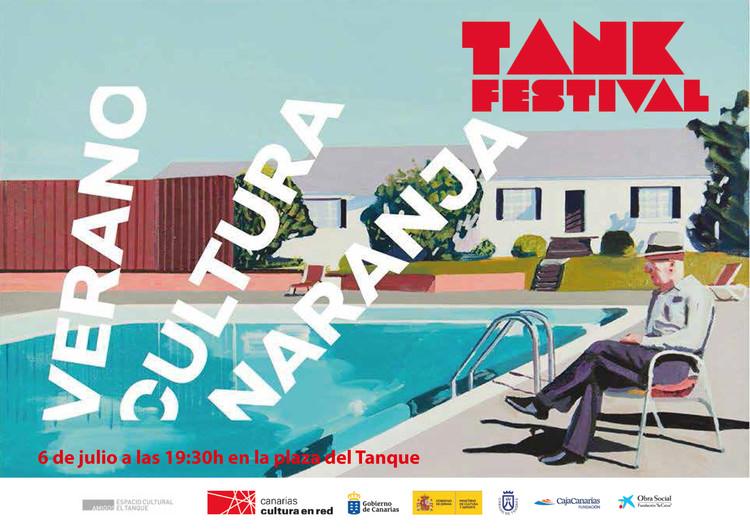 Tank Festival 2019: acción colectiva reivindicará la reforma del entorno del Espacio Cultural El Tanque en Santa Cruz de Tenerife, Cartel de 5º Tank Festival de Canarias, 2019