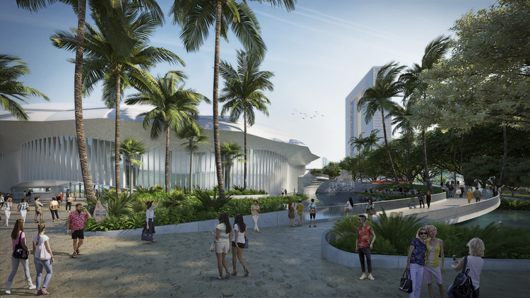 Snøhetta, WCIT, and AECOM Unveil Radical Masterplan for Honolulu, © Snøhetta