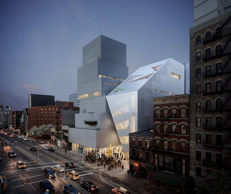 OMA presenta diseño de la ampliación del New Museum en Nueva York, La ampliación propuesta por OMA. Image © OMA / Bloom Web