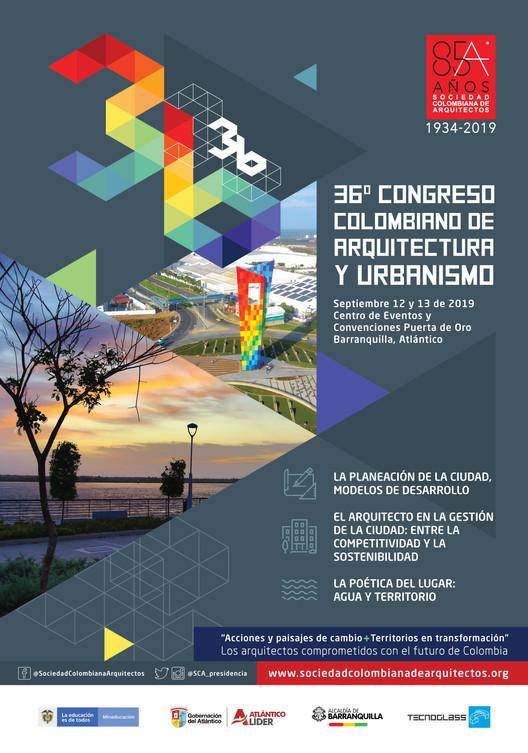 36° Congreso Colombiano de Arquitectura y Urbanismo, Referencia: Sociedad Colombiana de Arquitectos.