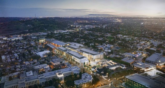 Amazon Expansion at The Culver Studios. Image Courtesy of Gensler