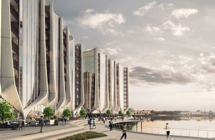 Sunland Reveals Futuristic Towers and $1 Billion Masterplan in Australia, Courtesy of Sunland