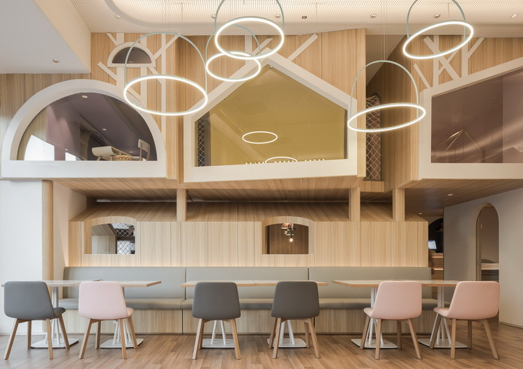 Vitaland Kid Restaurant / Golucci Interior Architects, © Lulu Xi
