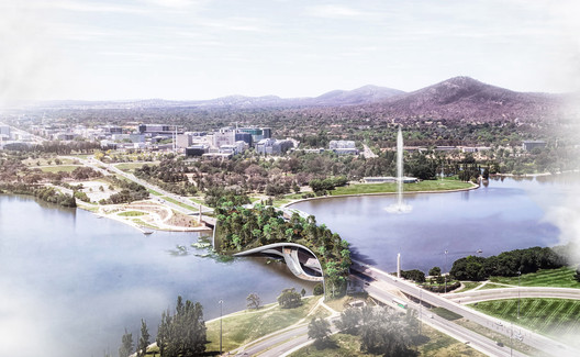 "CX Landscape Creates a Biodiverse ""Ribbon Bridge"" in Canberra"