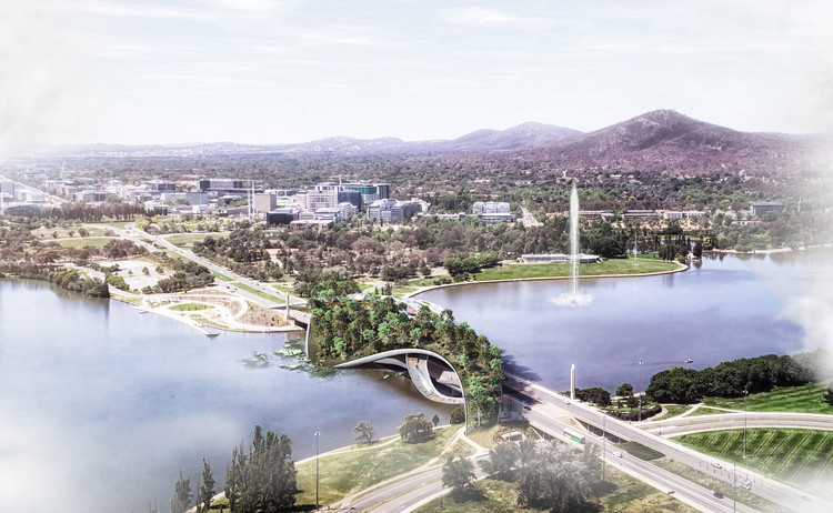 "CX Landscape Creates a Biodiverse ""Ribbon Bridge"" in Canberra, © CX Landscape"