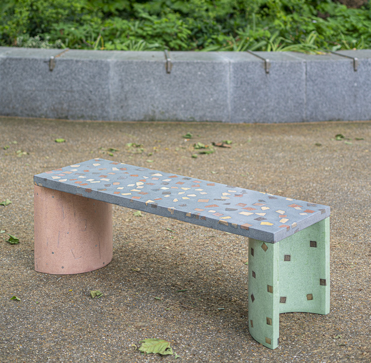 Awe Inspiring Terrazzo Furniture Made From Recycled Construction Materials Gmtry Best Dining Table And Chair Ideas Images Gmtryco