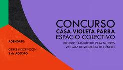 """Concurso """"Refugio Transitorio para mujeres víctimas de violencia de género"""""""