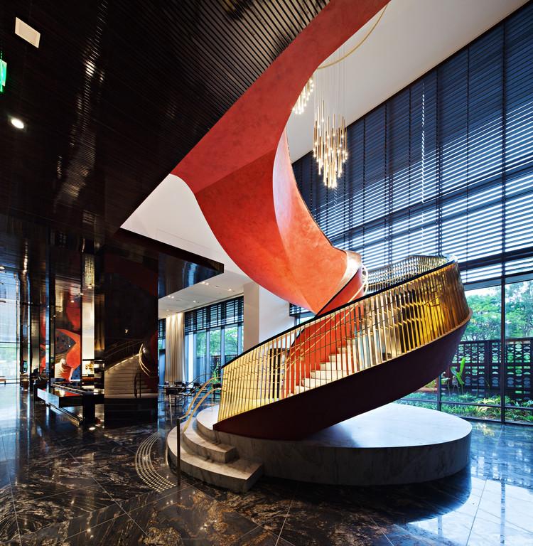 Hotel Four Seasons São Paulo / aflalo/gasperini arquitetos + HKS Architects, © Daniel Ducci