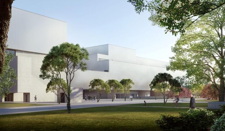 Álvaro Siza y Carlos Castanheira anuncian su proyecto para el Museo Haishang en Shanghai, Museu. Image Cortesia de Carlos Castanheira
