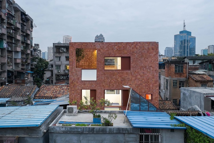 exterior view. Image © Chao Zhang
