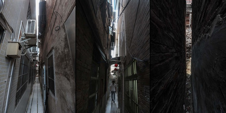 the alley view before renovation. Image Courtesy of URBANUS