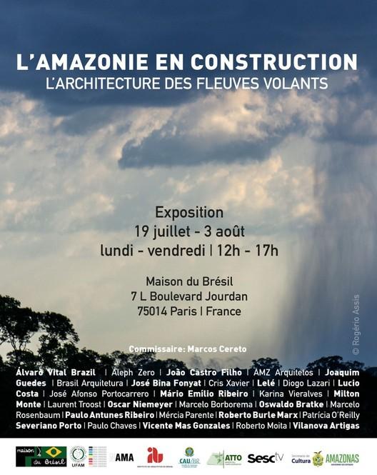 L'Amazonie en construction: l'architecture des fleuves volants, Amazônia em construção. NAMA, 2019.