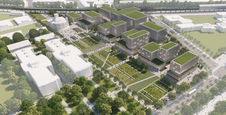Conoce el proyecto que pondrá en valor el Pabellón del Centenario en Buenos Aires, Cortesía de Arq. Juan Martín Flores