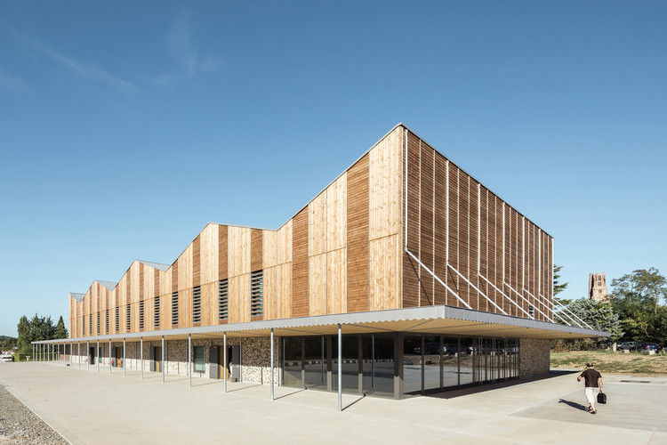 Pratgraussals Events Hall  / PPA architectures + Encore Heureux Architects, © Cyrus Cornut