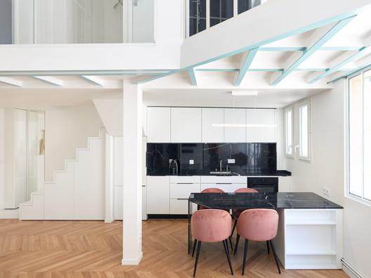 Monceau Apartment / JCPCDR Architecture