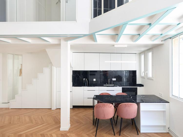 Apartamento Monceau / JCPCDR Architecture, © David Foessel