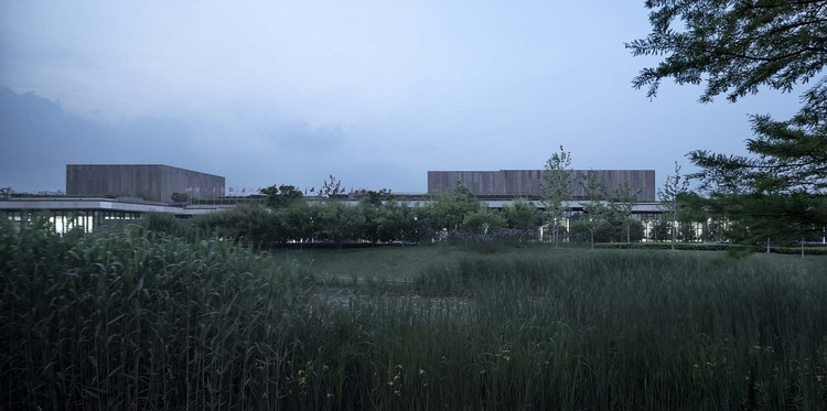 Cyrus Tang Foundation Center / UAD, view from the south. Image © Qiang Zhao