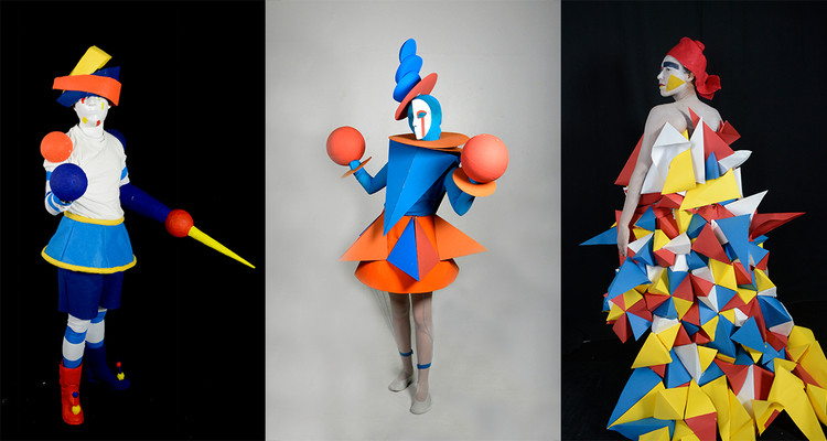 Diseñadores mexicanos reviven el Ballet Triádico para conmemorar 100 años de la Bauhaus, Cortesía de Universidad Gestalt de Diseño