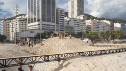 The Beach and the Time Installation / gru.a