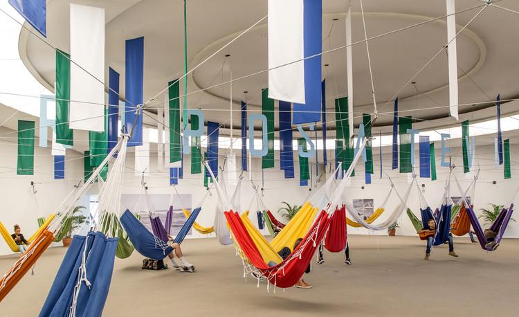 Instalação Riposatevi / gru.a, © Rafael Salim
