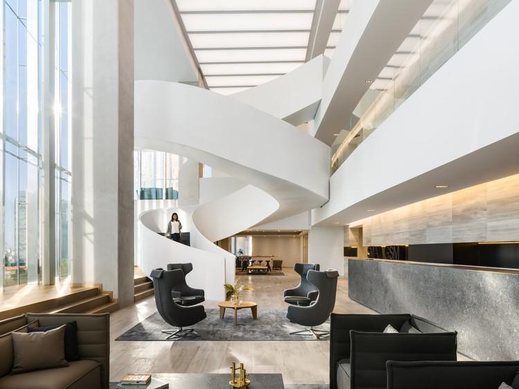 Oficinas SMA-GSM / Sordo Madaleno Arquitectos, © Rafael Gamo