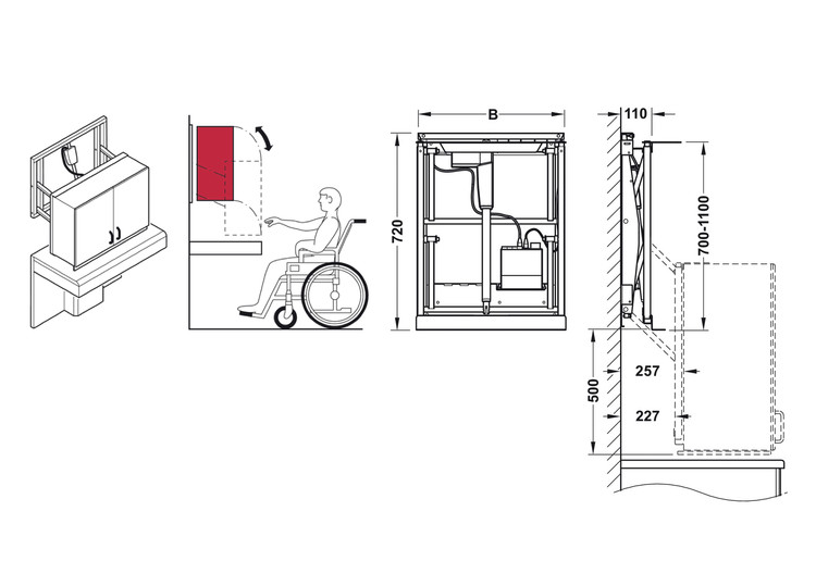 How to Design an Accessible Kitchen: Adjustable and