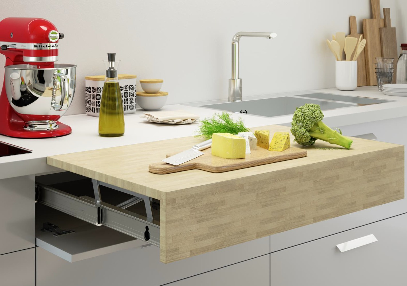 Gallery Of How To Design An Accessible Kitchen Adjustable And