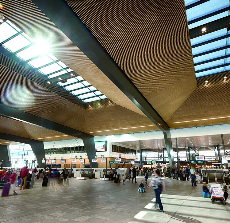 Bergen Airport / Nordic Office of Architecture, © Uyvind Toft