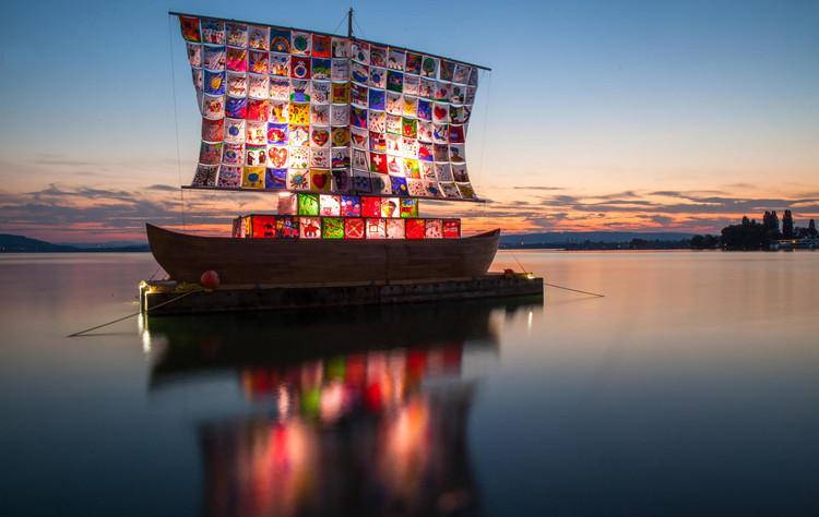 Chicago Architecture Biennial Announces 2019 Partner Sites, Ship of Tolerance. Image ? Zug-Tourismus-Fotografie-Daniel