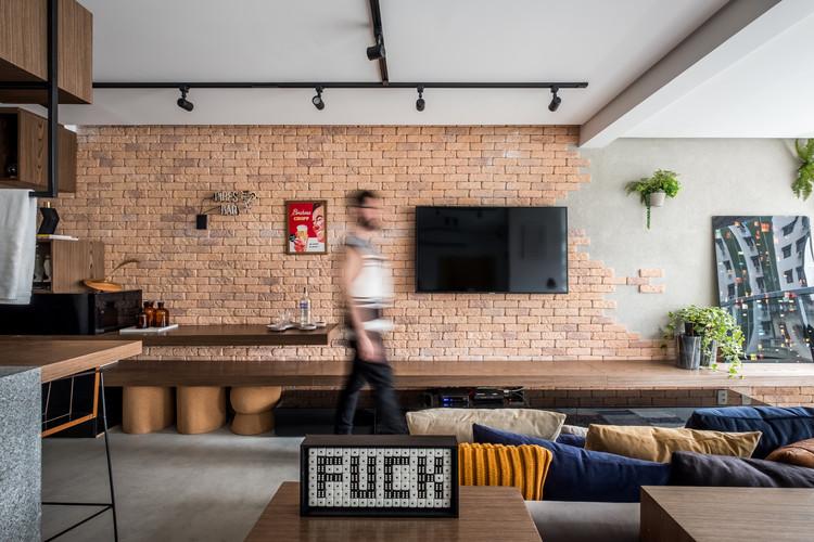 Apartamento PK / ZALC Arquitetura, © Nathalie Artaxo