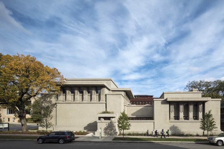 Unity Temple. Image © Tom Rossiter courtesy of Harboe Architects